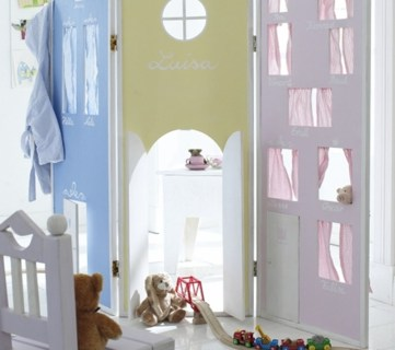 DIY Children Room Divider Apieceofrainbow ForRemodelaholic (15)