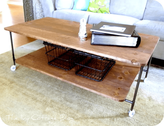 DIY Coffee Table Ideas Knock Off Decor 2