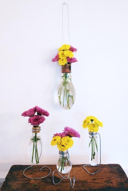 DIY Flower Vases The Merrythought