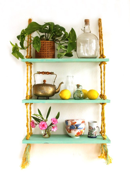 DIY Shelving A Piece Of Rainbow
