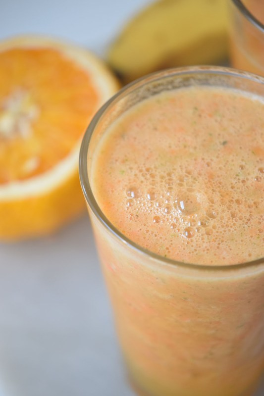 Mango Sunrise Smoothie | Healthy Breakfast Idea | Smoothie Recipe
