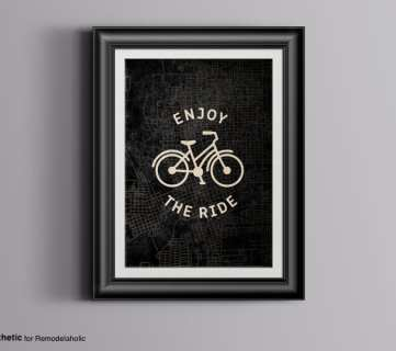 Free Printable Art: Enjoy the Ride