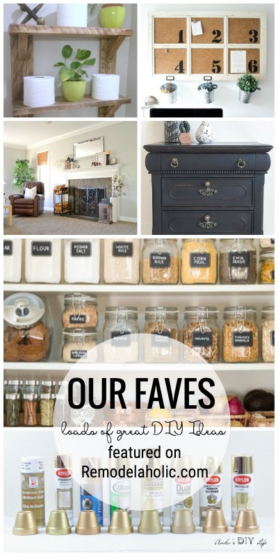 Organized Pantries, Black Furniture, The Best Gold Spray Paint And More Friday Favorites Featured On Remodelaholic.com