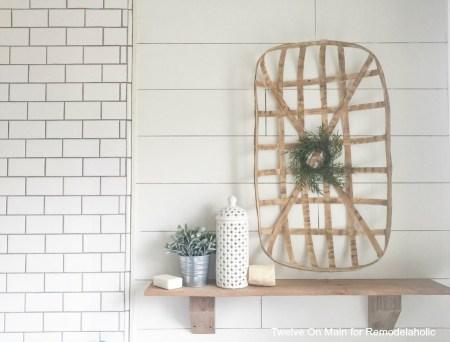 Rustic Farmhouse Shelves By Twelve On Main13