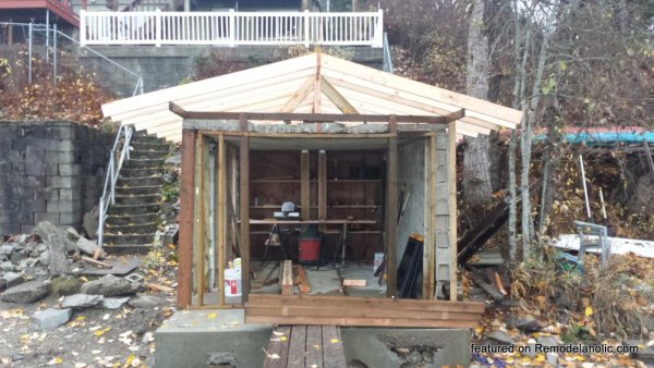 Boat House Renovation Before And After Featured On @Remodelaholic (19)