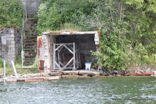 Boat House Renovation Before And After Featured On @Remodelaholic (3)