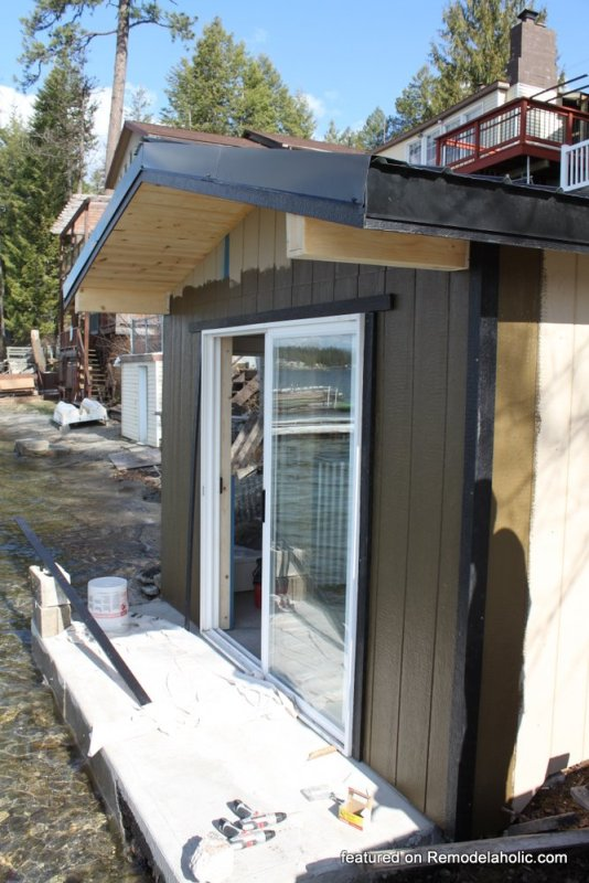 Boat Shed Renovation Before And After Featured On @Remodelaholic (1)