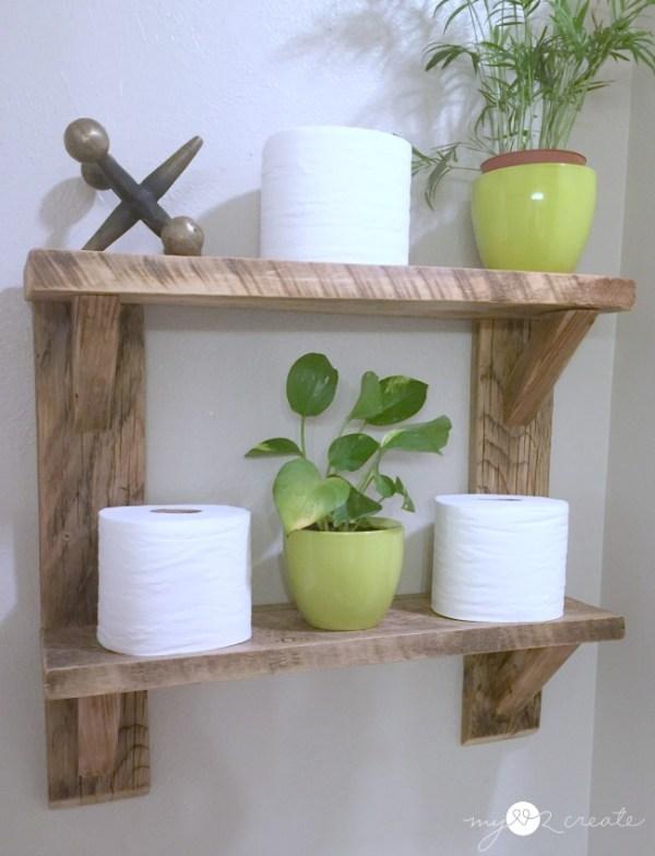 Green Plants On Shelves, MyLove2Create