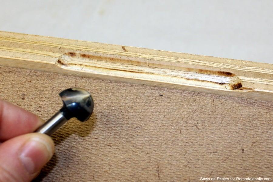 Saws On Skates Mid Century Modern Nightstand Drawer Pull