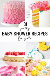 31 Pretty Baby Shower Recipes For Girls Remodelaholic