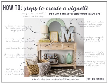 Postbox Designs: Create the Perfect Vignette