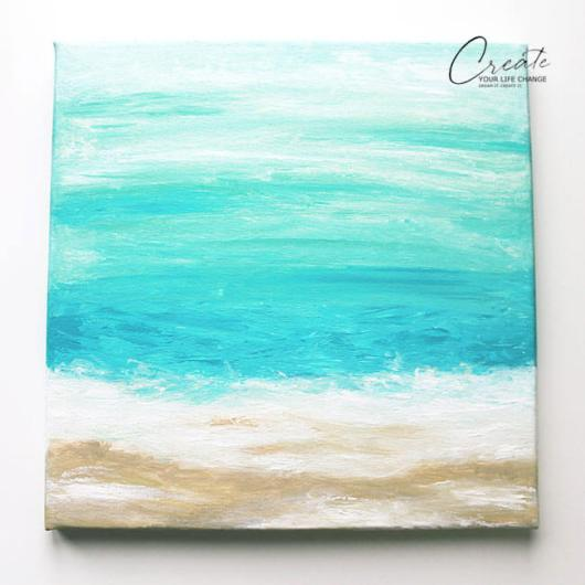 DIY Canvas Art Projects Creat Your Life Change