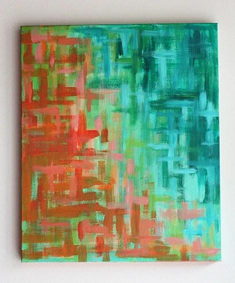 DIY Canvas Art Projects Elise Blaha