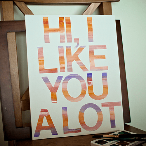 DIY Canvas Art Projects MrHandsomeface