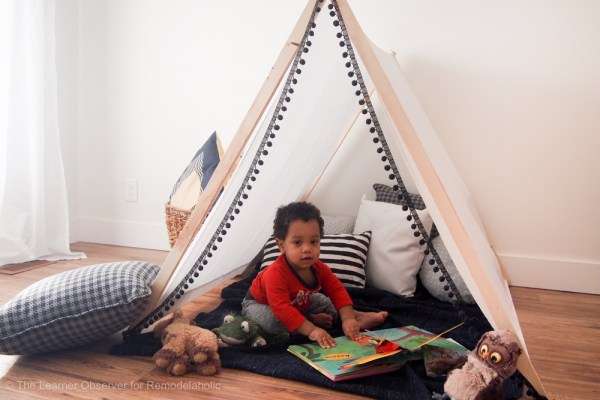DIY Kids Tent The Learner Observer 7