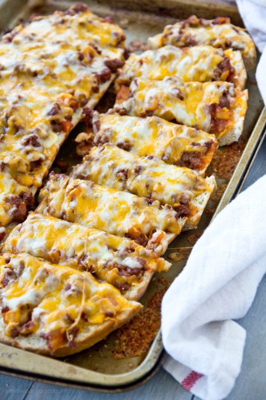 Pizza Inspired Recipes Yellow Bliss Road
