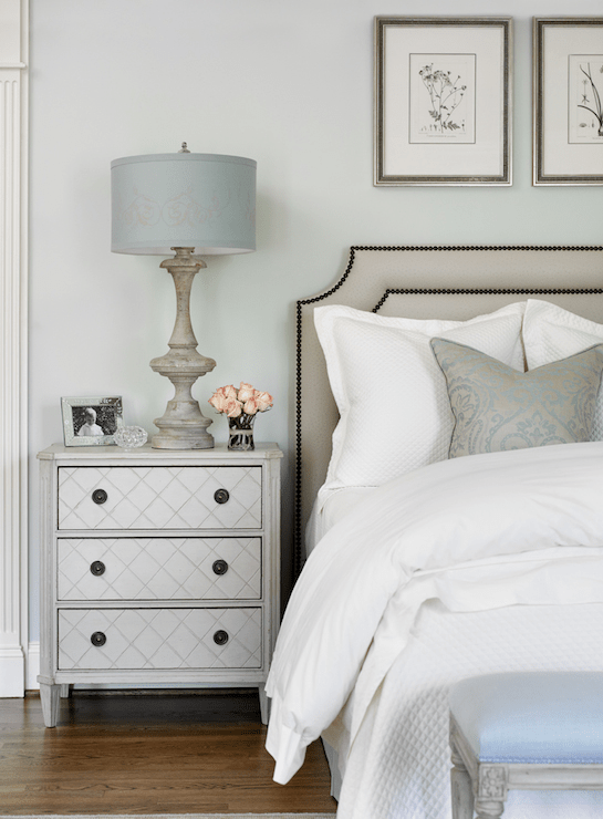 Wall Color Is Farrow And Ball Pale Powder. Color Trends For 2017