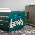 DIY Book Crate