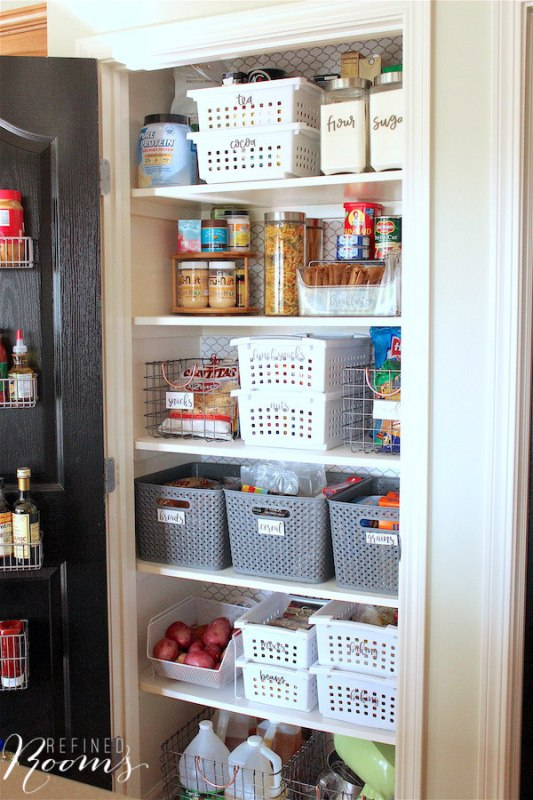 17 How To Create A Beautifully Organized Pantry, By Refined Rooms Featured On @Remodelaholic