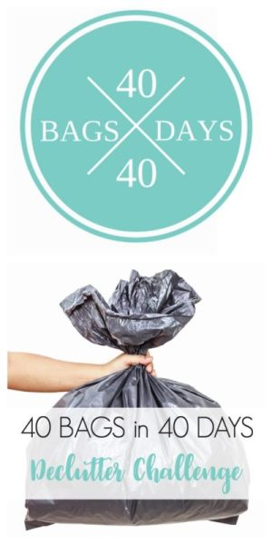 40 Bags In 40 Days Declutter Challenge 400x800