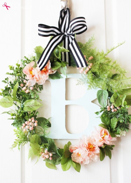 Botanical Spring Wreath 6
