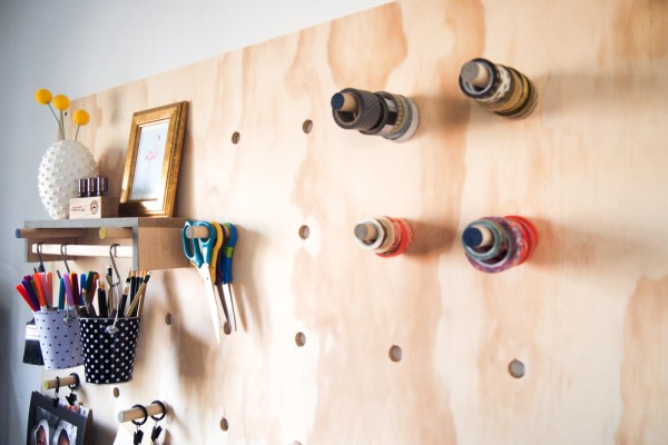 Giant Plywood Pegboard 19