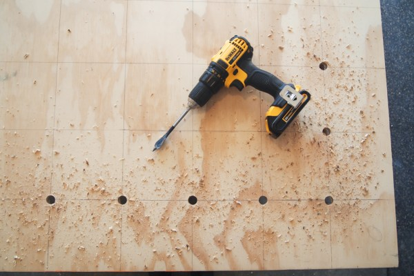 Giant Plywood Pegboard 4