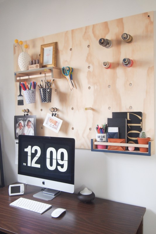 Giant Plywood Pegboard 6