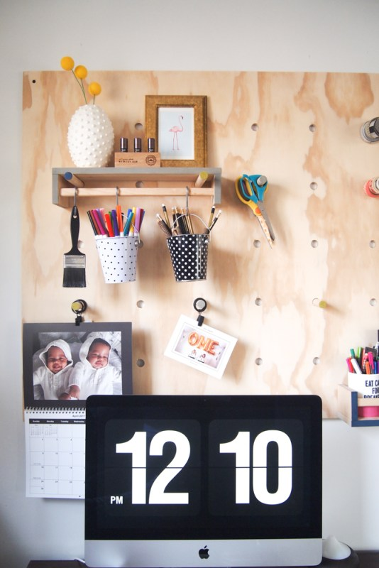 Giant Plywood Pegboard 9
