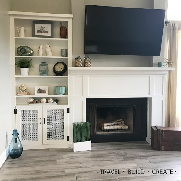 How To Build Fireplace Mantel Diy Built Ins