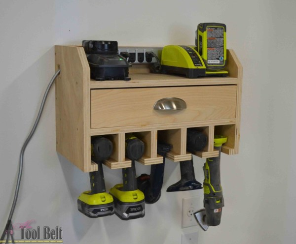 Plywood Organizer Projects Her Tool Belt