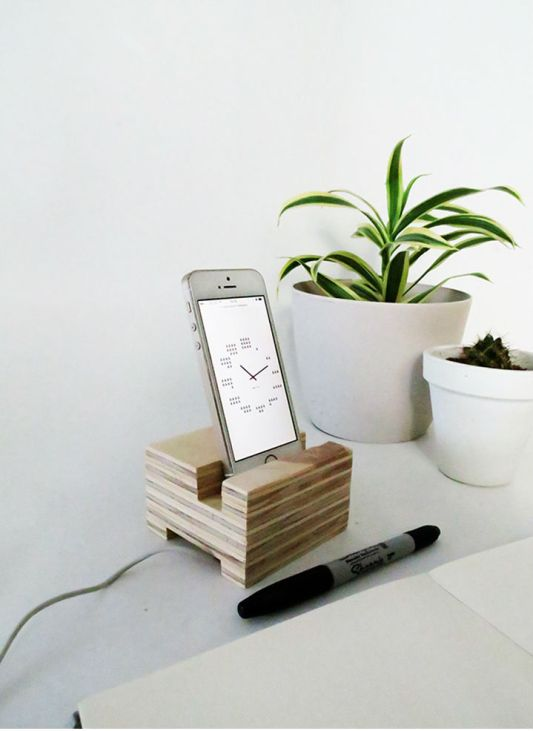 Plywood Organizer Projects Oh Oh Blog Phone Stand
