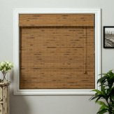 Fireplace Builtins Bamboo Blinds
