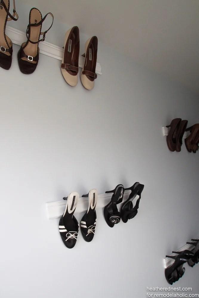 Molding Shoe Storage Heatherednest.com Remodelaholic.com 5