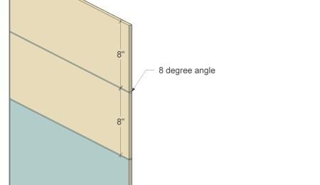 Remodelaholic Plywood Leaning Shelf Cut 3b
