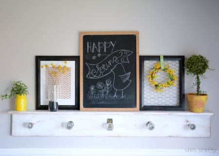 Spring Mantel Chalkboard Zpsv4w0htgr