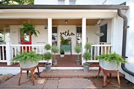 Spring Porch Decor 4