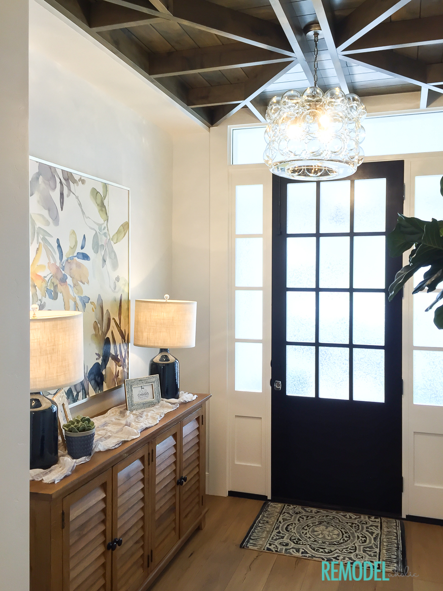 Remodelaholic  Get This Look A Transitional Entryway