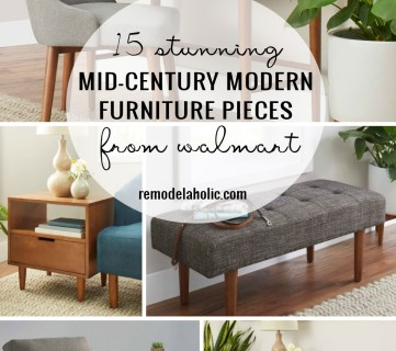 15 Stunning Mid Century Modern Furniture Pieces From Walmart