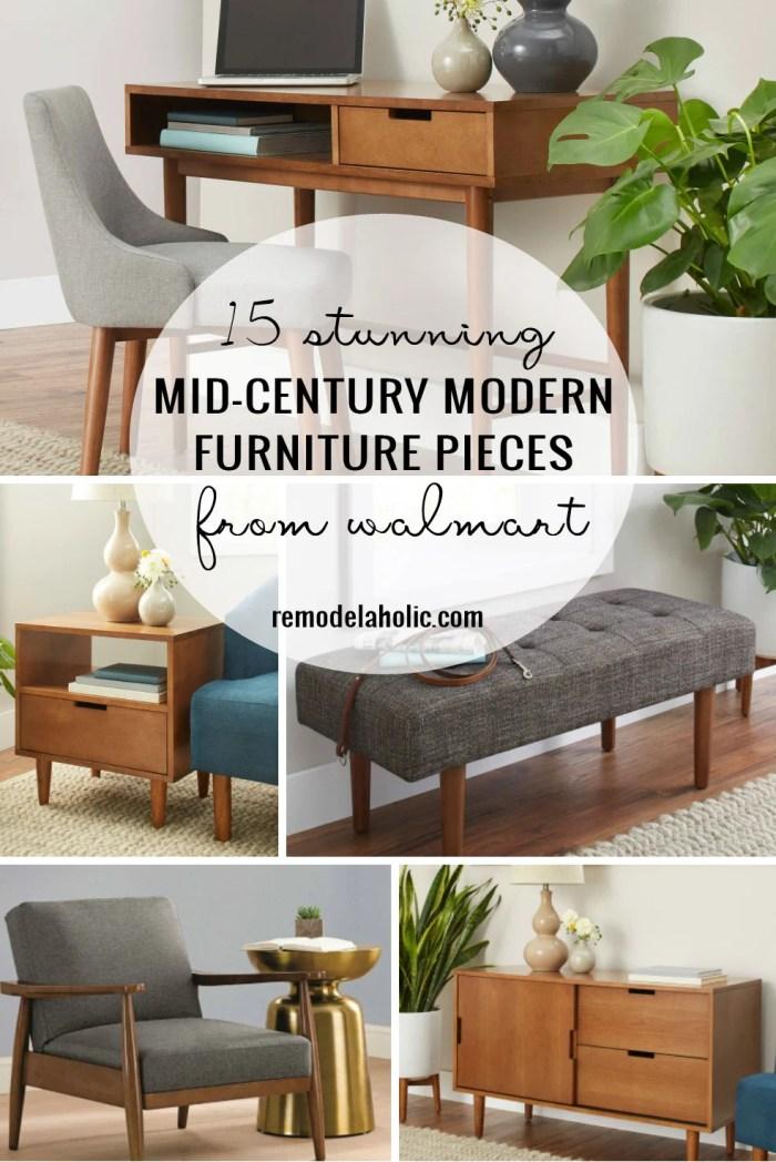 15 Stunning Mid Century Modern Furniture Pieces From Walmart