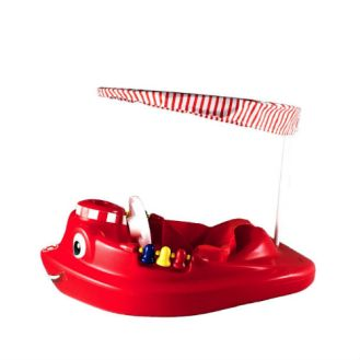 21 SwimWays Baby Tug Boat With UV Spring Canopy
