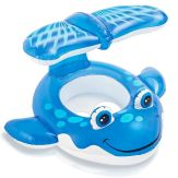 6 Intex Whale Baby Float