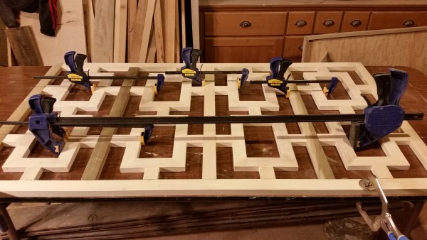 9 Build A Fretwork Panel Console Table, DIY Tutorial, By The Created Home Featured On @Remodelaholic