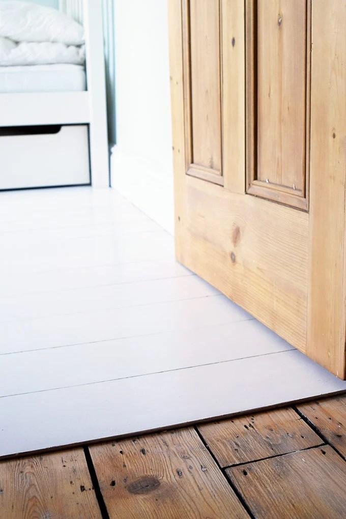 Little House On The Corner Diy Plywood Flooring