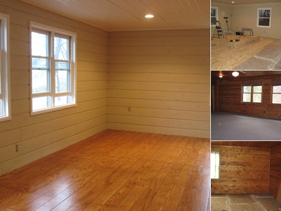 Quarry Orchard On Remodelaholic, Plywood Plank Flooring 2