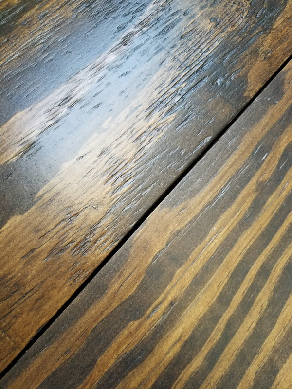 Remodelando La Casa, Wide Plank Plywood Floors Grooves