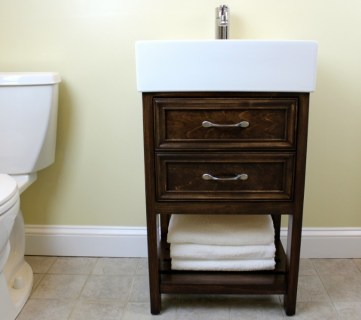 IKEA Hack: How to Build a Small DIY Bathroom Vanity