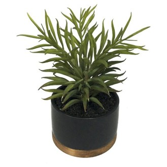 Bold Bathroom Design 12 Artificial Plant