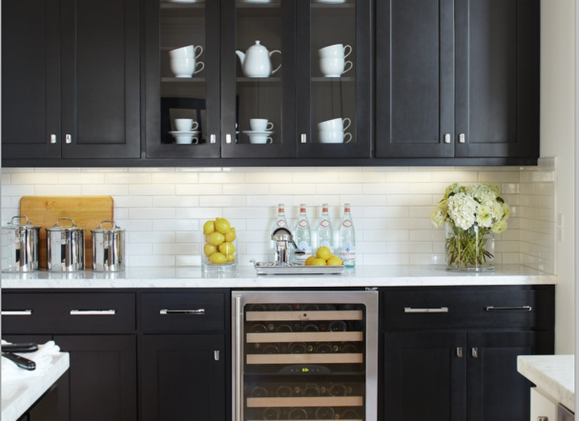 gray kitchen cabinets turquoise aid mixer remodelaholic | most popular black paint colors