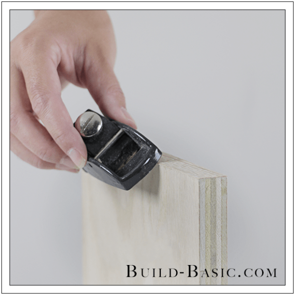 Finish Plywood Edges With Veneer Edge Banding Trimmer, Build Basic